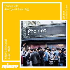 listen to phonica on rinse fm 300