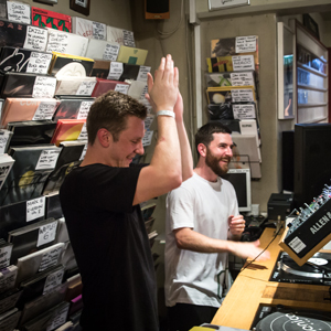 phonica in store bicep album launch party