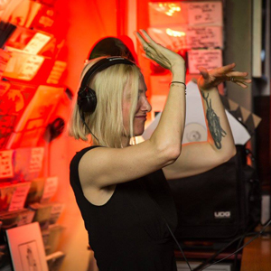 Phonica in-store Ellen Allien vinylism