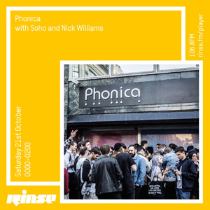 phonica rinse fm october 2017